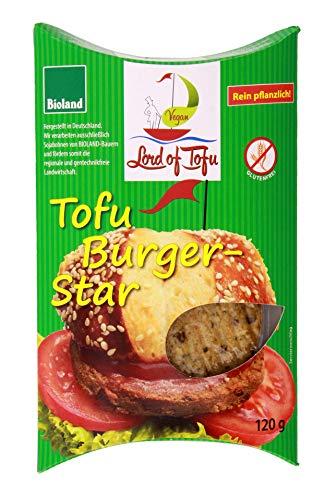Lord of Tofu - Bio Tofu Burger Star Burgerpatties - 120g