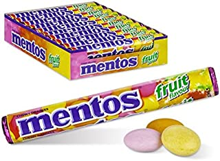 Mentos SAY HELLO Chewy Candy - Fruit Flavor - Different ways to say hello - 14-piece Rolls (Multipack of 20 Rolls)