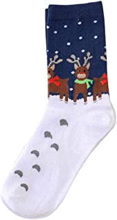 DEELIN Sale Christmas Socks Unisex Womens Socks Comfortable Stripe Sock Short Ankle Socks Mens Novelty Christmas Socks Lad...