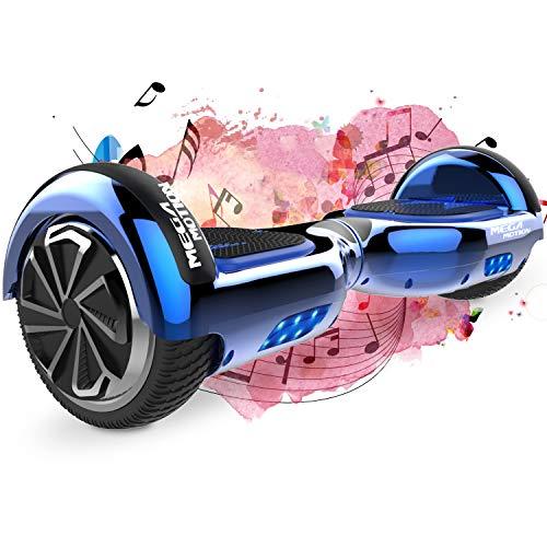 SOUTHERN WOLF Hoverboard Scooter Elettrico Autobilanciante da 6,5 Pollici con Motore Potente 2 * 350 W,LED Colorato a Ruota e Altoparlante Bluetooth,Adatto per Bambini di...