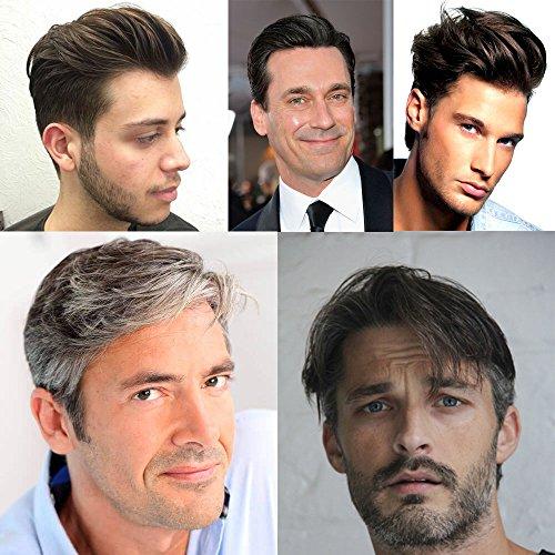 pelucas cabello natural humano blanco por internet