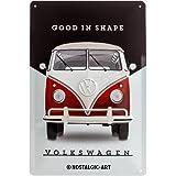 Nostalgic-Art 22260Volkswagen Good en Shape, Cartel de Chapa, 20x 30cm