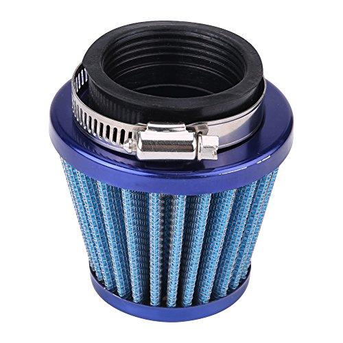 Nicoone Filtro de Aire para Gy6 150Cc ATV Quad 4 Ruedas Go Kart Bu-Ggy Scoo-Ter Mop-Ed 44Mm (Azul)