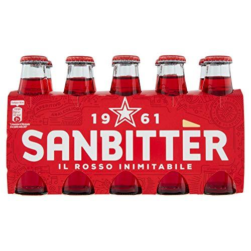 Sanbittèr Aperitivo Analcolico, 10 x 10Cl