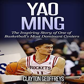 Yao Ming audiobook cover art