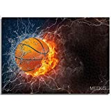 Regalo artesanía Puzzle Fuego de baloncestoHouse Decoration can be customized Paper puzzle 38x26cm