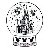 Flairs New York Premium Handmade Enamel Lapel Pin Brooch Badge (Magical Crystal Ball, 1 Pin)
