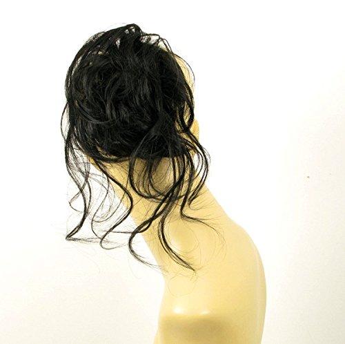 chouchou cheveux noire ref: 22 en 1b