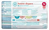 Honest Baby Diapers, Teal Tribal, Size 0 Newborn (160 Count)