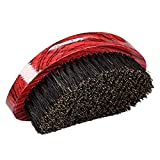 Senmubery Hair Brush Hair Cream Unisex Bristle Hair Beard Brush Oil Head Brush