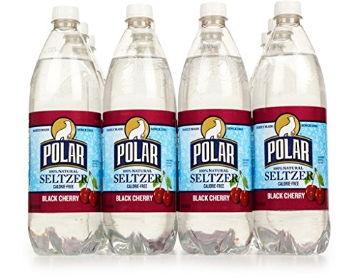 Polar Seltzer Sparkling Water Black Cherry Flavored Seltzer Drinking Water 33.8 Fl. Oz (Pack of 12)
