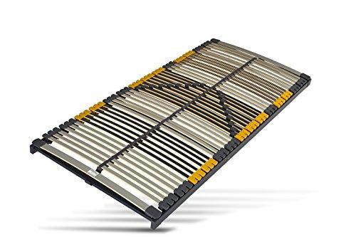 Hilding Sweden Lattenrost, 80 x 200 cm, mit 44 Latten aus Holz (nicht verstellbar), Fertig montiert, Geeignet für alle Matratzen, Härtegrad 9-fach justierbar