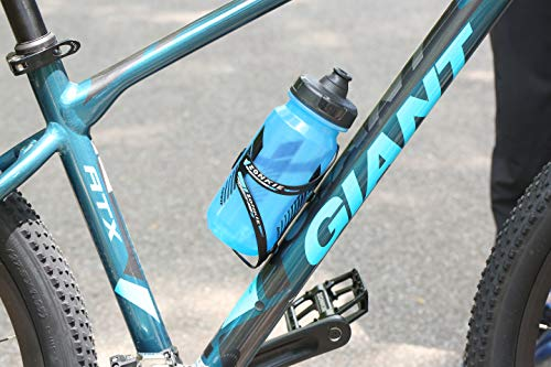 ZONKIE Flaschenhalter Fahrrad, leicht und stark Flaschenhalter, schnell und einfach zu montieren, Sehr gut geeignet Road, Mountain, Hybrid, Touring & Electric Fahrräder 30g - 5