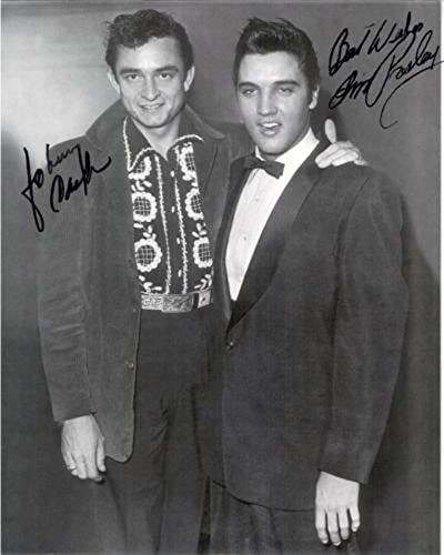 ELVIS PRESLEY All items in the store JOHNNY CASH - Special sale item ROC 8x10 inch Photograph Reprint