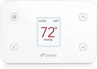iDevices IDEV0005AND5 ترموستات هوشمند، با الکسا، سفید کار می کند