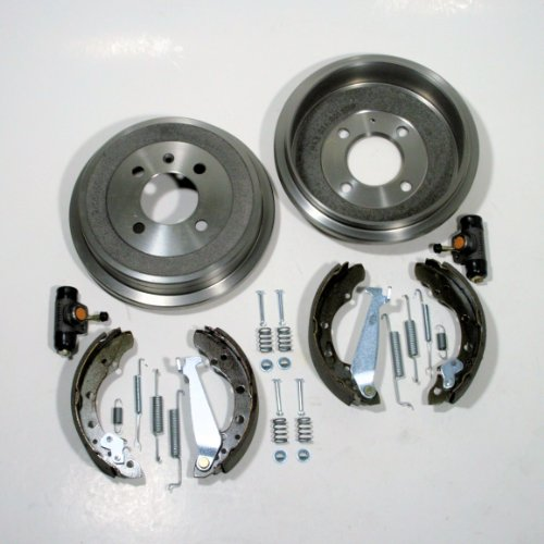 Ø 180 mm Bremstrommel/Bremsen Set mit Zubehör hinten