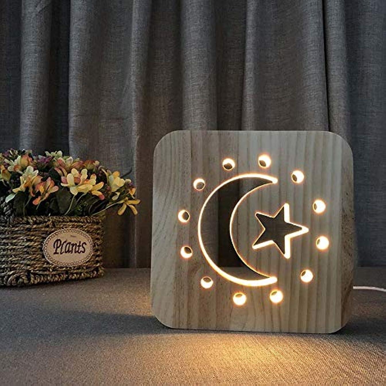 防止皮報奨金3Dナイトライト、月と星のLEDナイトライト、子供部屋用のベビー保育園ランプホーム装飾ボタンスイッチ付きクリスマス誕生日プレゼント