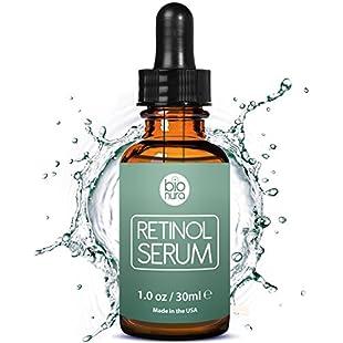 Bionura Retinol 2.5%, Vitamin C 20% and Hyaluronic Acid High Strength Anti Ageing Firming Serum:Tourlombok-piranti