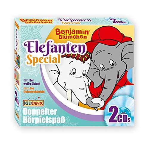 2er-CD Elefanten-Special - Der weiße Elefant/ Die Elefanten-Königin