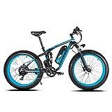 Extrbici XF800 Bici Elettrica Mountain Bike 1000W 48V 13Ah 624Wh BatteriaBici Elettrica 26 Pollici...