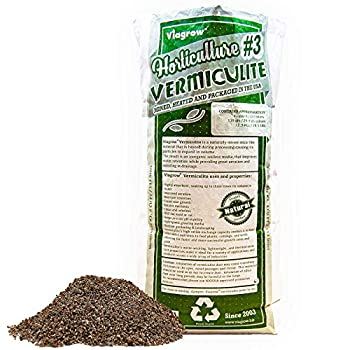 Viagrow VER4 Horticulture Vermiculite 4 Cubic FT/29.9 Gallons/113 Liters 1-Pack Gold