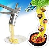 Máquina para Hacer Pasta Máquina para Hacer Pasta de Acero Inoxidable Máquina para Hacer Fideos Exprimidor de Frutas Máquina para Hacer Pasta Molde para Fideos Máquina para Hacer Pasta Utilizada par