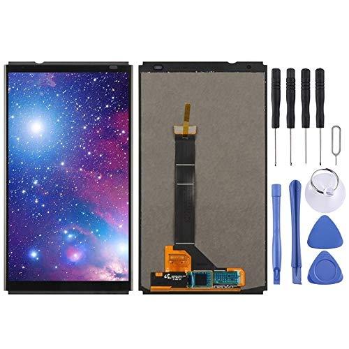 YANTAIAN Piezas de reparación de teléfonos celulares Pantalla LCD y Conjunto Completo del digitalizador for ZTE Axon 7 Mini B2017 B2017G (Color : Black)