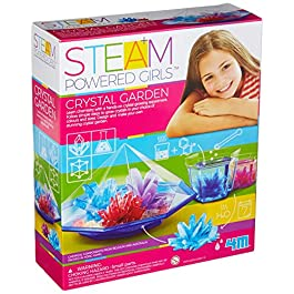 4M Steam Powered Girls Crystal Garden Toy