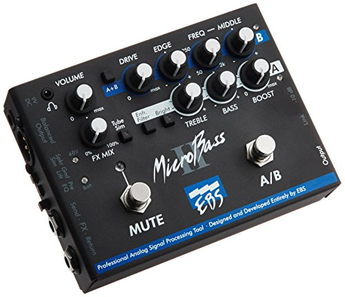 Best Buy! EBS MicroBass Two Channel Pro Bass Pre Amp