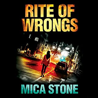 Rite of Wrongs audiobook cover art