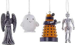 Kurt Adler Doctor Who Mini Ornament Gift Set of 4 Pieces