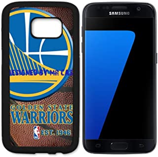 Warriors Goldn State Basketball Black Samsung Galaxy S7 Case by Mr Case