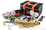 SÜA 25 Series Gas Welding & Cutting Kit Oxygen Torch Acetylene Welder Outfit