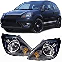 Carparts-Online 28021 Scheinwerfer H4 schwarz Paar