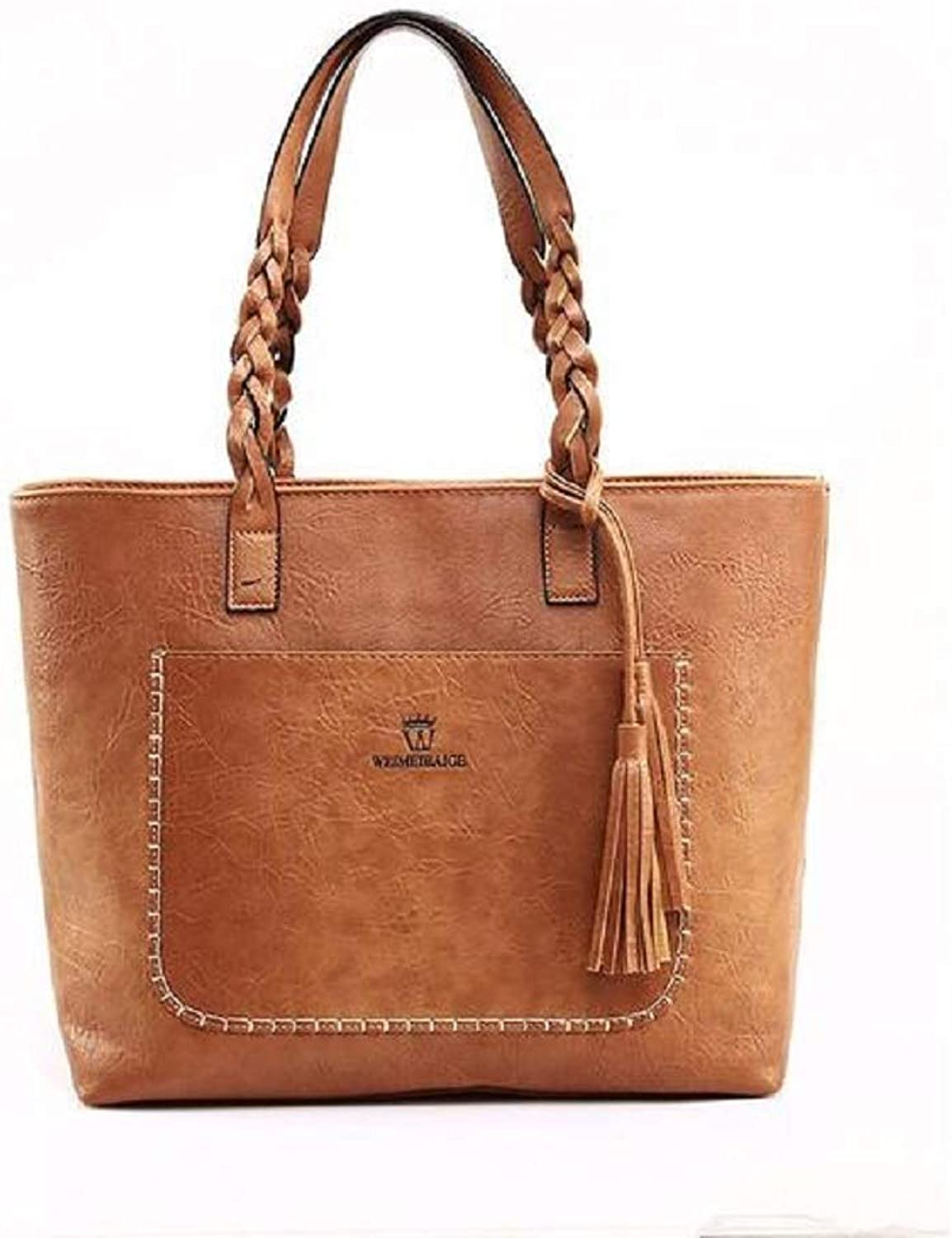 BagPrime Ladies Tote Bag with Woven Straps