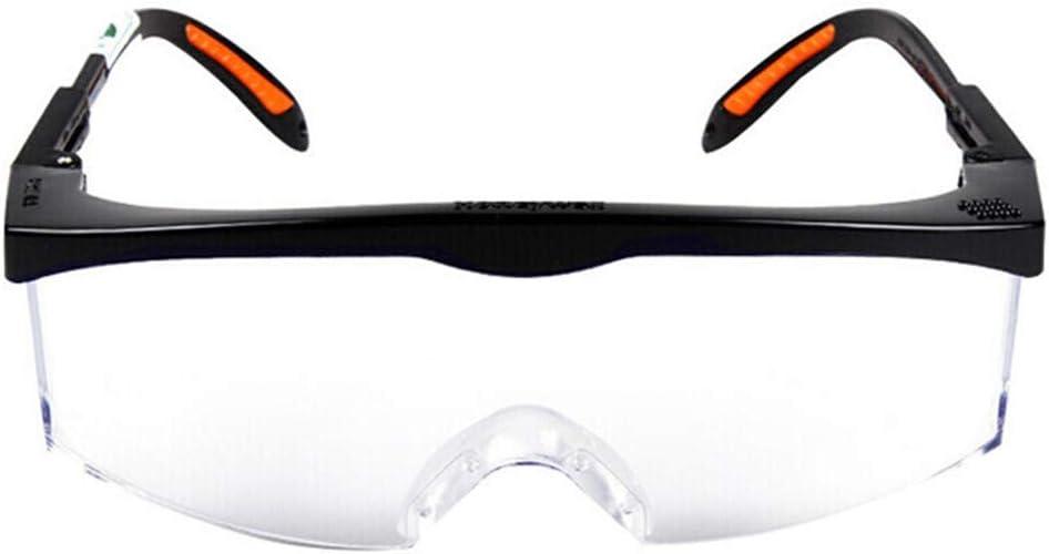 Dear, you Gafas de Seguridad Gafas de Seguridad Protectoras para los Ojos Gafas Antipolución Gafas Ligeras para el Trabajo de Laboratorio de fábrica Anti-Impacto al Aire Libre