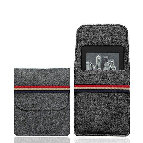 Kapa 6-inch Felt Sleeve for Kindle Paperwhite, Kindle E-Reader, Kindle Voyage & Kindle Oasis