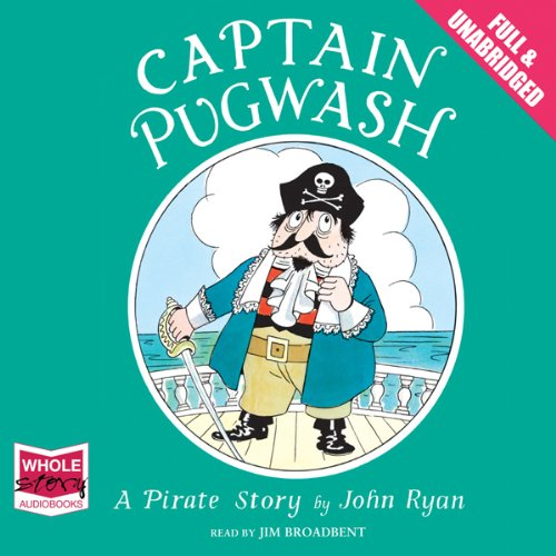 Captain Pugwash audiobook cover art