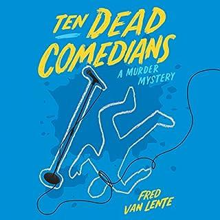 Ten Dead Comedians audiobook cover art