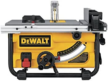 DeWalt DWE7480 10 in. 15 Amp Site-Pro Compact Jobsite Table Saw