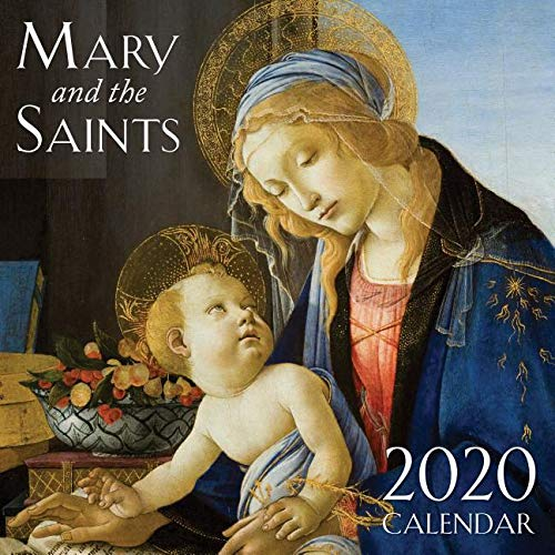Compare Textbook Prices for 2020 Mary & the Saints Catholic Wall Calendar  ISBN 9781505114478 by TAN Books