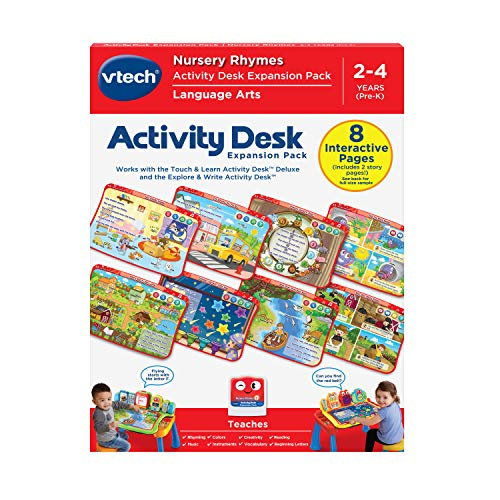 VTech Touch & Learn Activity Desk Deluxe - Nursery Rhymes