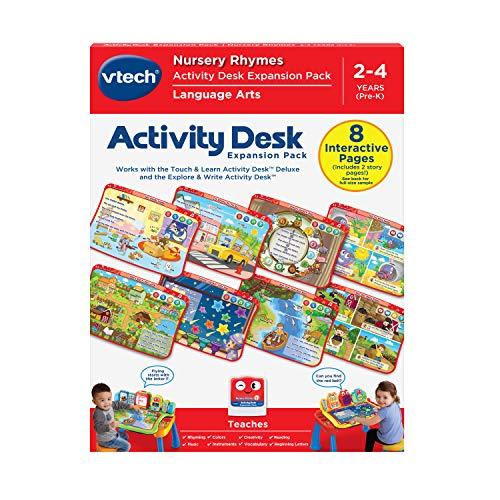 VTech Escritorio de actividades Touch and Learn Deluxe Expansion Pack – rimas infantiles