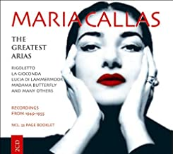 Maria Callas sings The Greatest Arias: Rigoletto / La Gioconda / Lucia di Lammermoor / Madama Butterfly