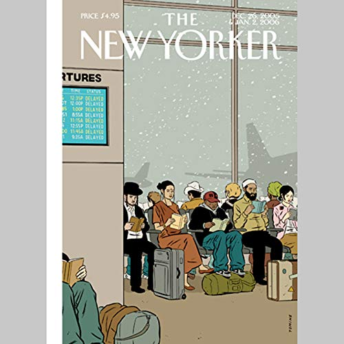 The New Yorker (Dec. 26, 2005 & Jan. 2, 2006) audiobook cover art