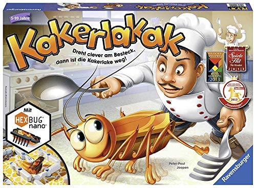 Ravensburger Kinderspiel 22212 - Kakerlakak - Spiel für Kinder ab 5 Jahren
