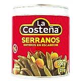 LA COSTEÑA chiles serranos en escabeche lata 121 gr