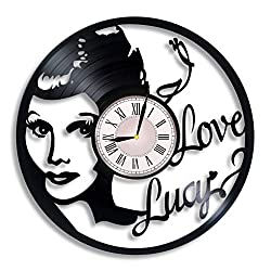 I Love Lucy vinyl wall clock, I Love Lucy gift for any occasion