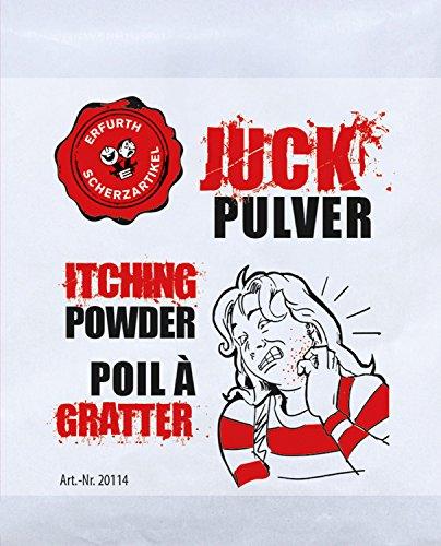 1x Juckpulver Juck Pulver Itching Powder Scherzartikel