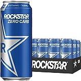 Rockstar Energy Drink Zero Carb 16oz 12Pk, 12 Count